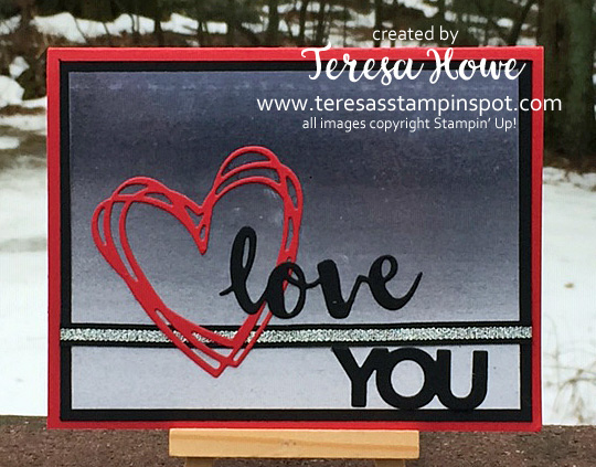 Valentine, Masculine, Ombre, Sunshine Wishes,  Celebrate You, Stampin' Up!, SU