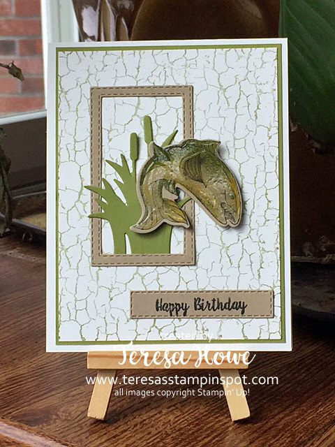 Fishing, Masculine, Best Catch, #2019Occasions, Stampin' Up!, SU!, Birthday