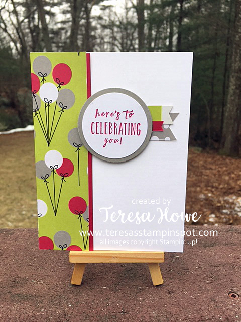 Broadway Bound, Birthday, Stampin' Up!, SU!, #simplestamping