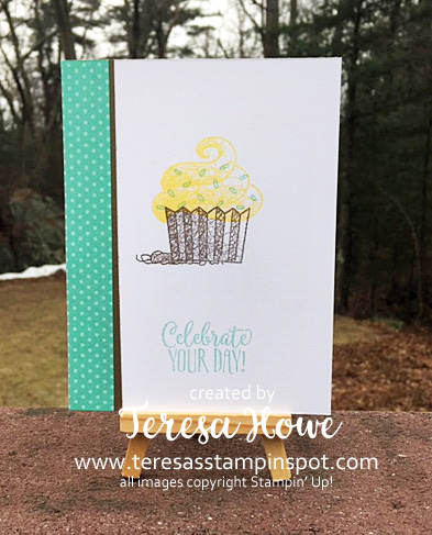 Birthday, Cupcake, Hello Cupcake, #2019SAB, Stampin' Up!, SU!