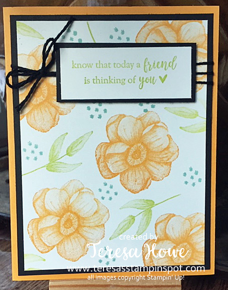 Friend, Painted Seasons, SU!, Stampin' Up!, 2019SAB