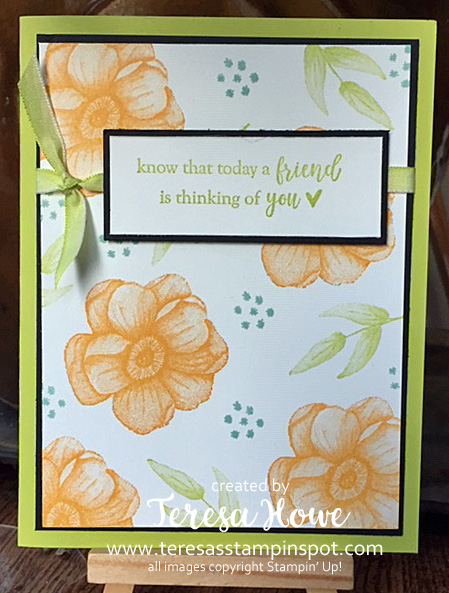 Friend, Painted Season, 2019SAB, Stampin' Up!, SU!