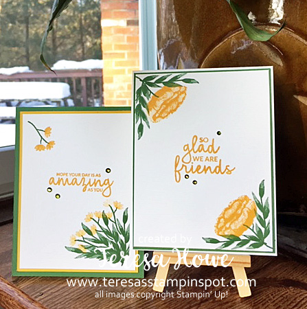 Friends, Incredible Like You, #DIstINKtiveStamps, #2019Occasions, Stampin' Up!, SU!