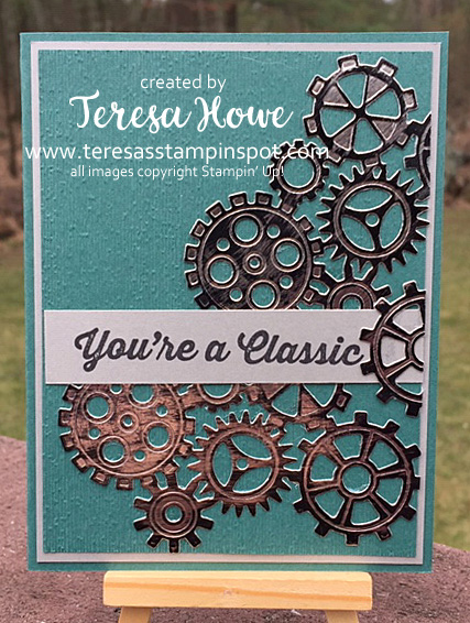 Masculine, Geared Up Garage, #2019Occasions, Stampin' Up!, SU!