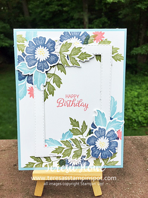 Birthday, Flowers, Everything is Rosy, Stampin' Up!, SU!