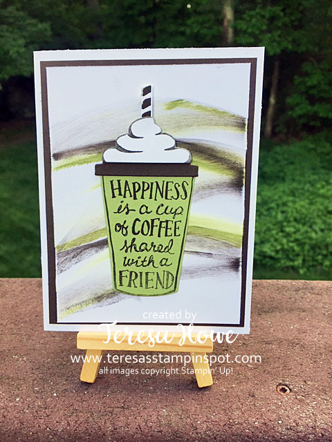 Coffee, Coffee Cafe, Friends, Stampin' Up!, SU!