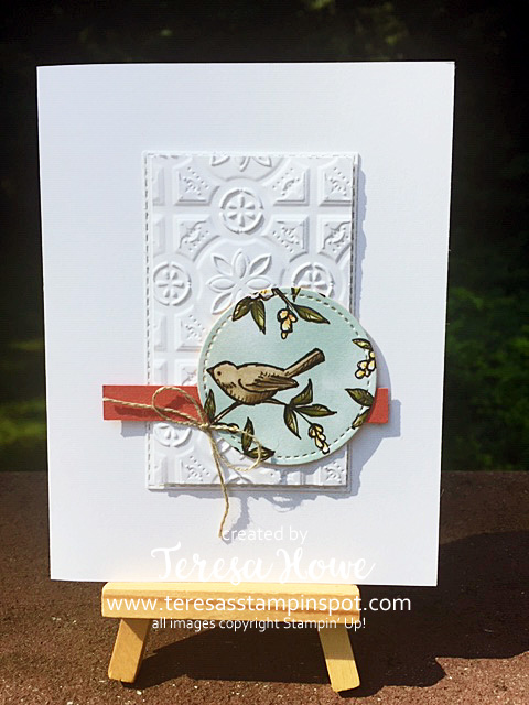 Bird Ballad, Tin Tile, Stampin' Up!, SU!, #2019AnnualCatalog