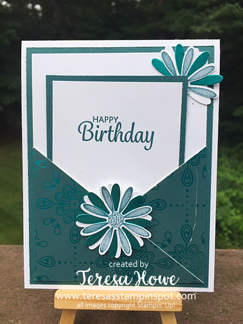 Birthday, Daisy Lane, Pocket Card, Stampin' Up!, SU!, #2019AnnualCatalog