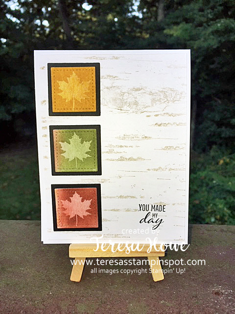 Leaves, Fall, Colorful Seasons, Stampin' Up!, SU!, #2019AnnualCatalog