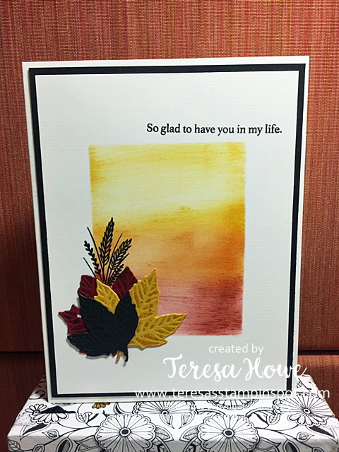 Thanksgiving, Friendship, Gather Together, Masking, Stampin' Up!, SU!