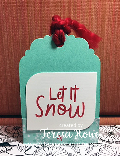 Let It Snow, Snowmen, Tags, Stampin' Up!, SU!, #Holiday2019