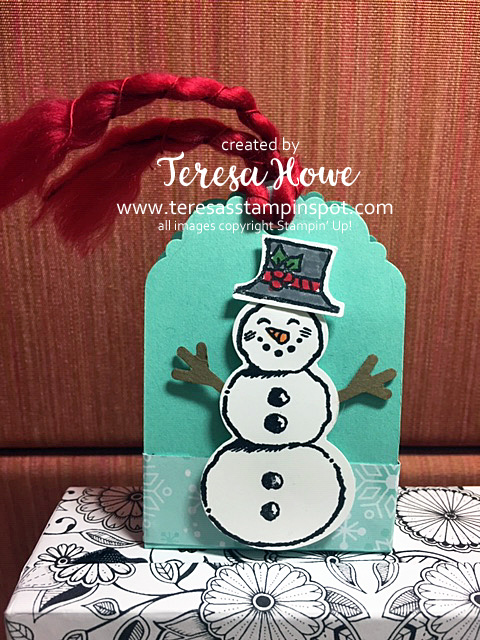 Snowman,Let it Snow, Stampin' Up!, SU!, #Holiday2019