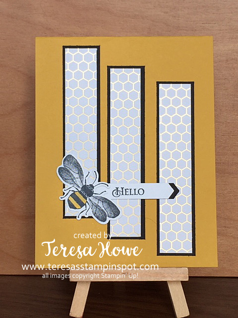 Bees, Hello, Honey Bee, Stampin' Up!, SU!, #2020Occasions