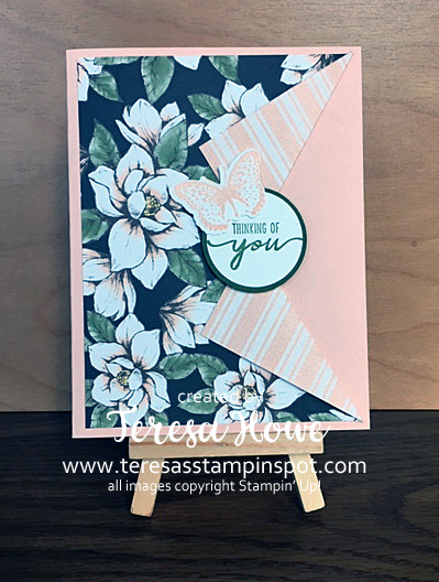 Fun Fold, Magnolia Lane, DSP, #2020Occasions, Stampin' Up!, SU!