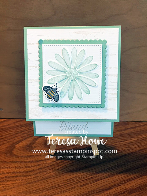 Friend, Daisy Lane, Stampin' Up!, SU!, #2019AnnualCatalog, Fun Fold