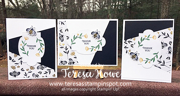 Honey Bee, Thank You, Stampin' Up!, SU!, #2020Occasions