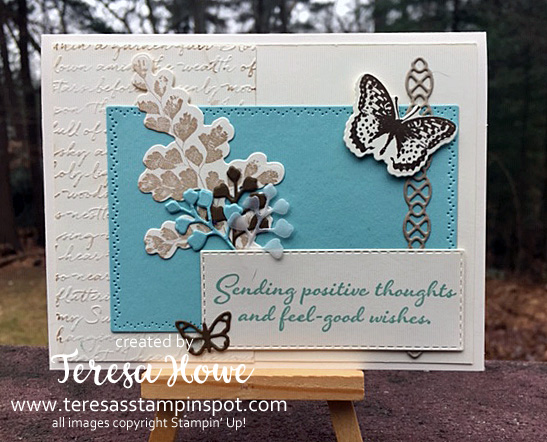 Positive Thoughts, Friend, Stampin' Up!, SU!, #2020Occasions