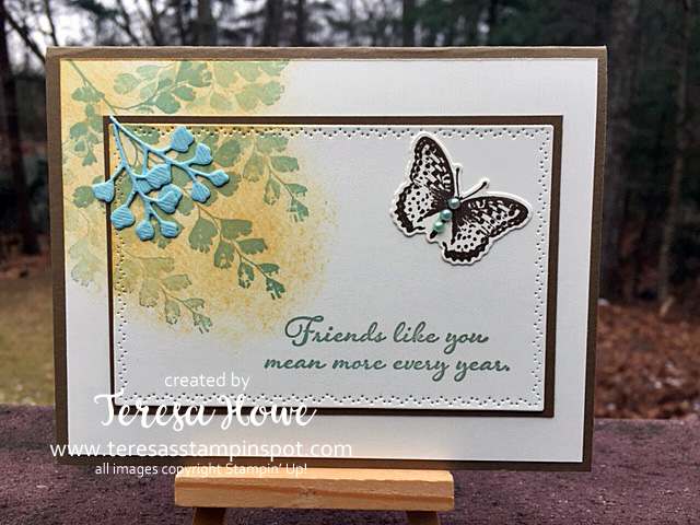 Positivie Thoughts, Thank You, Stampin' Up!, SU!, #2020Occasions, #internationalbloghighlights