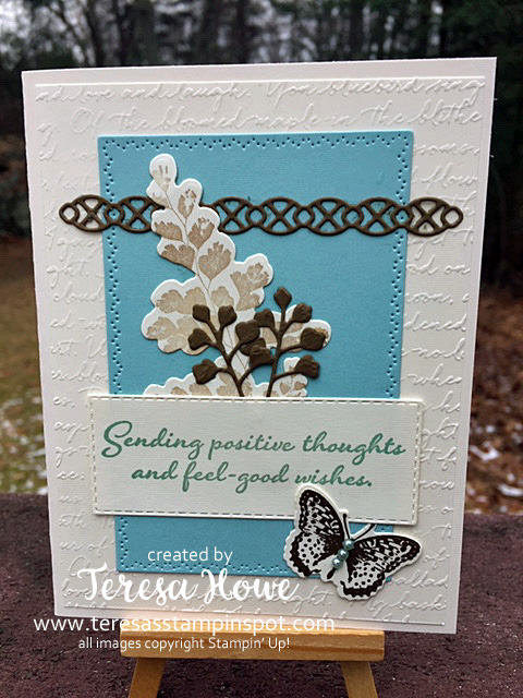 Positive Thoughts, Friend, Stampin Up!, SU!, #2020Occasions