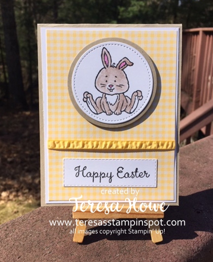 Easter, Welcome Easter, Stampin' Up!, SU!, #2020Occasions