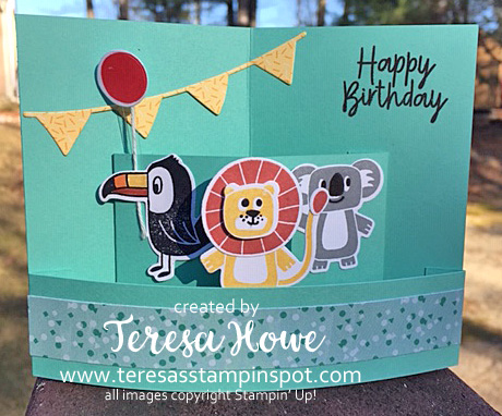 Birthday, Fun Fold, Technique, Bonanza Buddies, Stampin' Up!, SU!, #2020Occasions