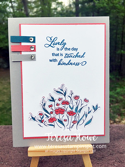 Lovely is the Day, Stampin' Up!, Kindness, SU!, #2019AnnualCatalog