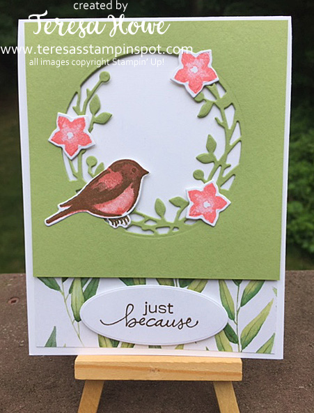 Just Because, Friendship, Birds&Branches, Stampin' Up!, SU!, #2020AnnualCatalog