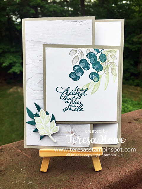 Forever Fern, Fancy Fold, Friendship, Stampin' Up!, SU!, #2020AnnualCatalog