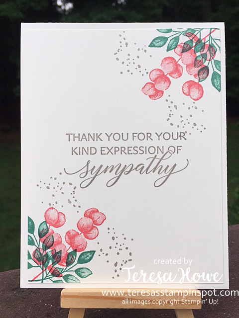 Forever Fern, Sympathy, Stampin' Up!, SU!, Kindness and Compassion, #2020AnnualCatalog, #2020InColors