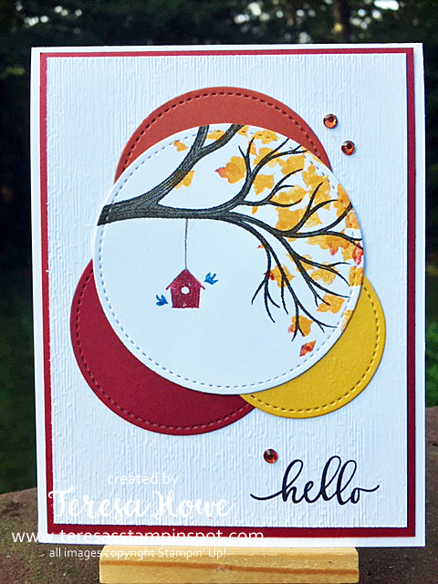 Hello, Friendship, Fall, Life is Beautiful, Stampin' Up!, SU!, #2020AugDecMini, #StampItBlogHop