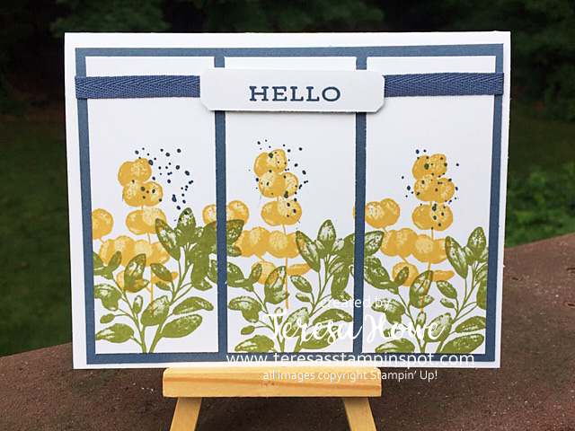 Forever Fern, Hello, Friendship, Stampin' Up!, SU!, #2020AnnualCatalog, #2020InColors