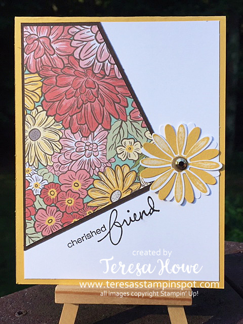 Angle Cut DSP, Ornate Garden, Friendship, Stampin' Up!, SU!, #2020AnnualCatalog