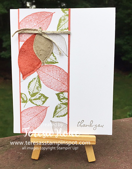 Rooted in Nature, Fall, Thank You, Stampin' Up!, SU!, #2020AnnualCatalog