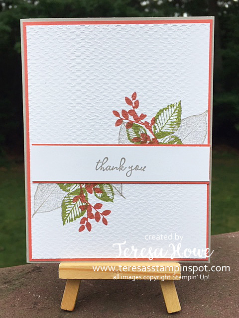 Thanks, Rooted In Nature, Stampin' Up!, SU!, #2020AnnualCatalog