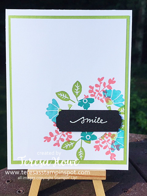 Smile, Flowers, Stampin' Up!, SU!, #2020AnnualCatalog, Lovely You