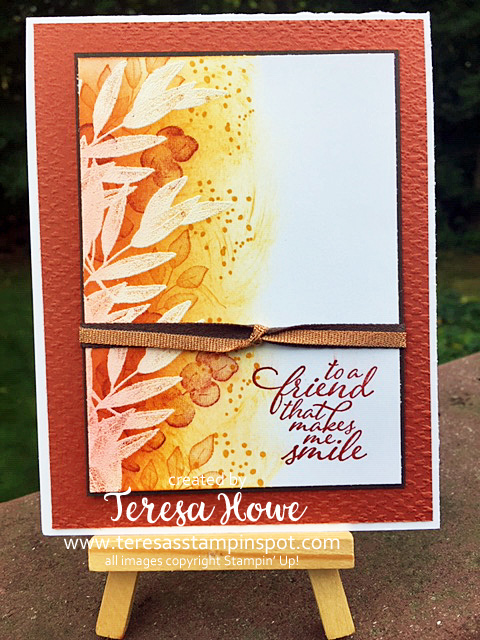 Emboss Resist, 2for1, SplitCard, Stampin' Up!, SU!, Forever Fern, Hello, Friendship, #2020AnnualCatalog