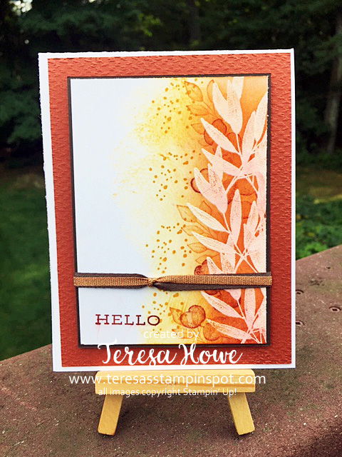 Emboss Resist, Fall, Friendship, SplitCard, 2for1, Stampin' Up!, SU!, #2020AnnualCatalog
