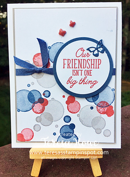 Beauty Abounds, Friendship, Stampin' Up!, SU!, #2020AnnualCatalog