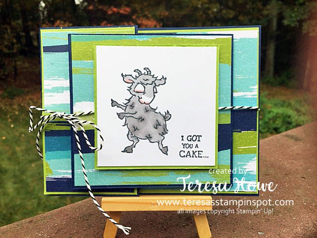 Birthday, Gift Card Holder, Way To Goat, Stampin' Up!, SU!, #2020AnnualCatalog