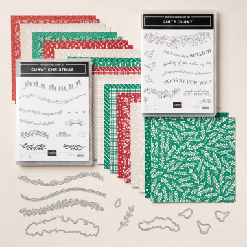 Quite Curvy Variety Bundle, Stampin' Up!, SU!