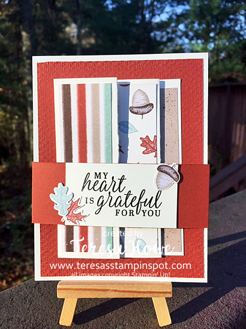Grateful, Fall, Gilded Autumn, Beautiful Autumn, Stampin' Up!, SU!, #AugDecMini