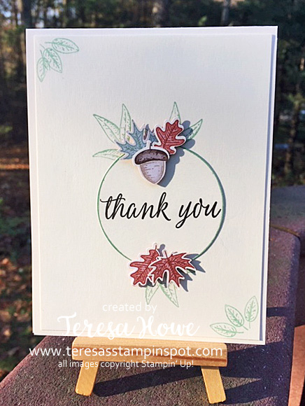 Beautiful Autumn, Thanks, Stampin' Up!, SU!, #AugDecMini2020