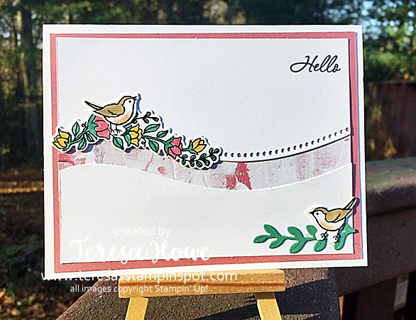 Quite Curvy, Hello, Friendship, Stampin' Up!, SU!, #JanJune2021Mini