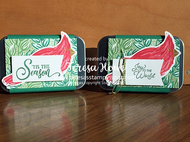 Christmas, Gift Card Holder, Tag Buffet, Stampin' Up!, SU!, #AugDec2020Mini