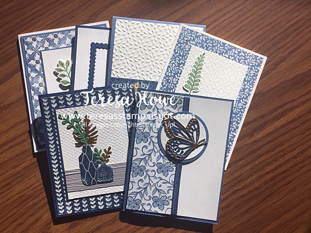 Boho Indigo, Card Kit Class, Stampin' Up!, SU!, #2020AnnualCatalog