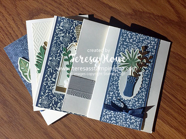 Boho Indigo Notecards, Stampin' Up!, SU!, #2020AnnualCatalog