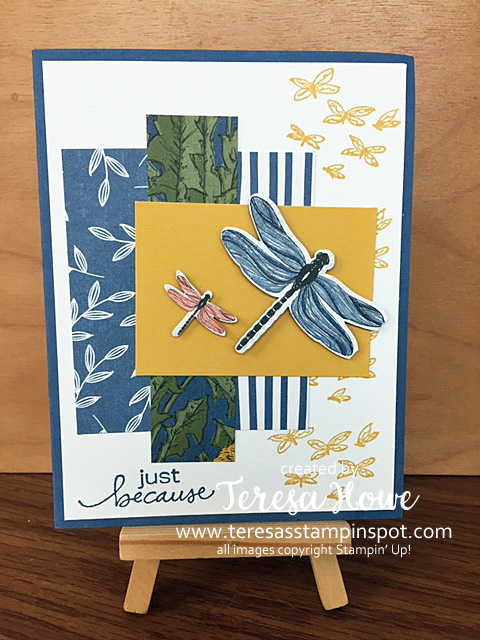 Dragonflies, Friendship, Just Because, Dragonfly Garden, Stampin' Up!, SU!, #DSP, #JanJune2021Mini