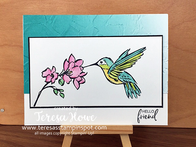 Friendship, A Touch of Ink, Stampin' Up!, SU!, Watercolor, #JanFebSAB2021