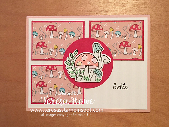 Hello, Friendship, Snailed It, DSP Scraps, Stampin' Up!, SU!, #JanJuneMini2021
