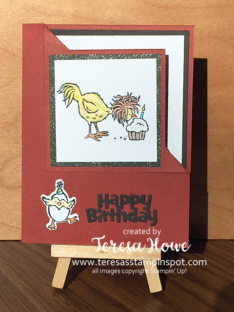 Hey Birthday Chick, Happy Birthday, Stampin' Up!, SU!, #JanJune2021Mini